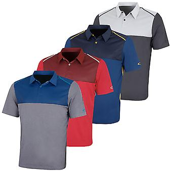 Oakley Mens Bicolor Blok korte mouw vocht Wicking Golf Polo Shirt