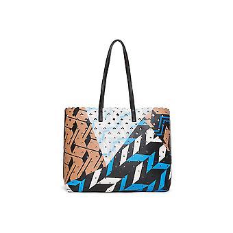 Desigual kvinder ' s Vendbar geopatch Seattle shopper taske & lille taske