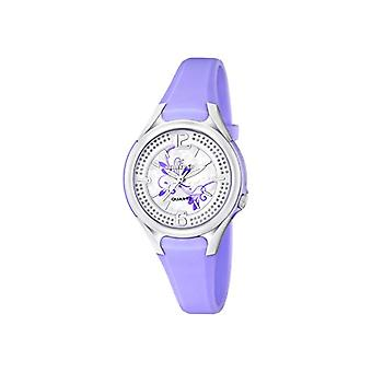 Calypso-ladies ' quartz analog Display and plastic strapping, color: purple/k5575 4