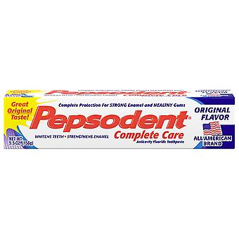 Pepsodent complete care toothpaste, 5.5 oz