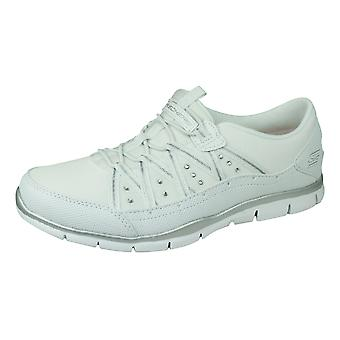 Skechers Gratis Dreaminess Womens Trainers / Yoga Shoes - White