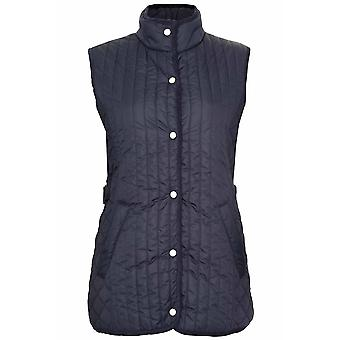 Ladies Champion Country Estate PressStud Closure Quilted Gilet Bodywarmer