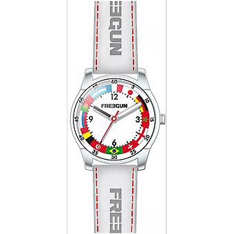 Shows Freegun EE5245 - leather white steel joint child