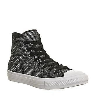 Converse Chuck Taylor All Star II HI 151087C Black Navy Casual Shoes (10 B(M)...