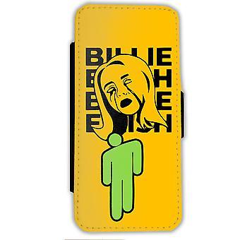 Μπίλι Eilish iPhone 11 πορτοφόλι περίπτωση πορτοκαλί