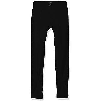 Soffe Girls' Big Wrap Legging, Black, X-Large
