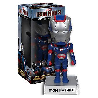 Iron Man 3 Patriot Wacky Wobbler