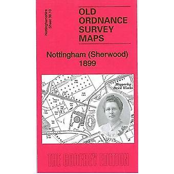 Nottingham (Sherwood) 1899 - Nottinghamshire Sheet 38.10 by Barrie Tri