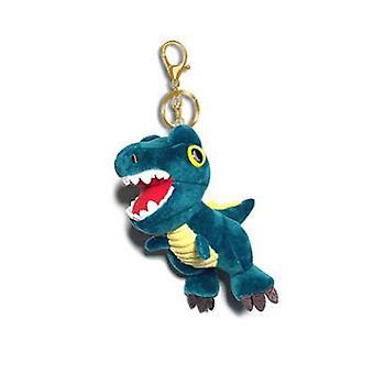 Ruzucoda Plush Dinosaur Keychain Stuffed Animals Toys, Blue, Size No Size