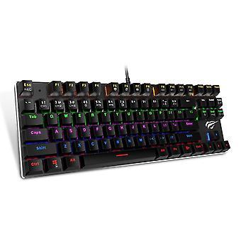 Havit KB435L Mechanical Keyboard RGB Cable Nordic