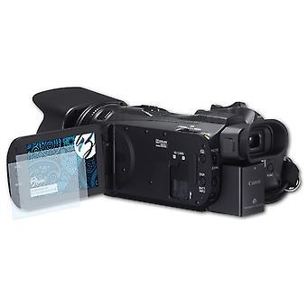 Bruni 2x Schutzfolie kompatibel mit Canon Legria (Vixia) HF G30 Folie