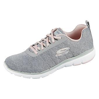 Skechers Sneaker Flex Appeal 13067GYLP Universal Sommer Damen Schuhe