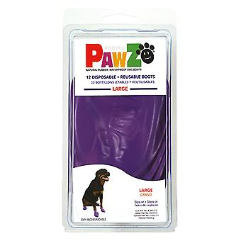 Pawz dog Boots For Dog L (12Botas) (Dogs , Dog Clothes , Shoes)