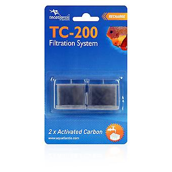 Aquatlantis Carbon Filtering TC 200 (Fish , Filters & Water Pumps , Filter Sponge/Foam)