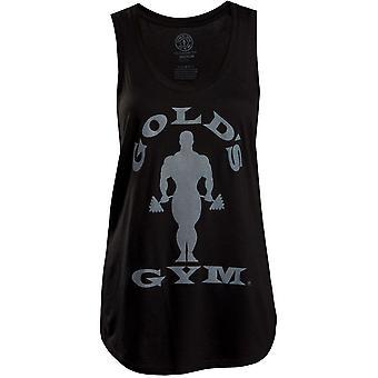Gold's Gym Women's Silhouette Joe Racerback Tank Top - Black