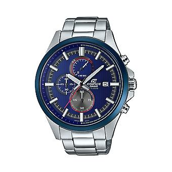 Casio Watches Efv-520rr-2avuef Edifice Blue & Silver Stainless Steel Men's Watch