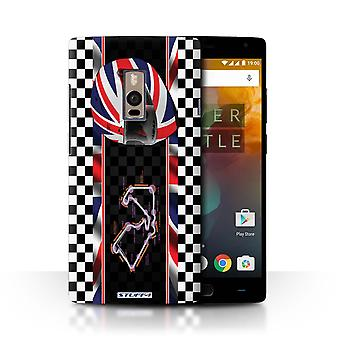STUFF4 Case/Cover for OnePlus 2/Two/Britain/Silverstone/F1 Track Flag