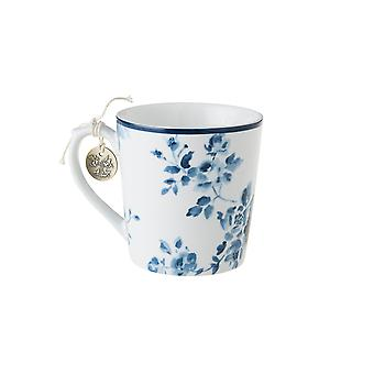 Laura Ashley Mug, China Rose