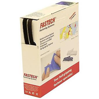 FASTECH® B10-SKL999910 Hook-and-loop tape stick-on (hot melt adhesive) Hook and loop pad (L x W) 10 m x 10 mm Black 10 m