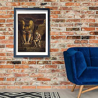 William Blake - America a Prophecy Poster Print Giclee