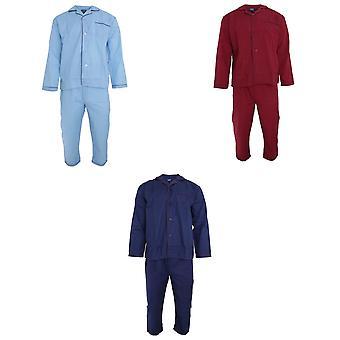 Camisa de manga longa de Mens James Harvey & Bottoms tecido conjunto de pijama/pijamas