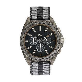 WEWOOD watch chronograph quartz men with WW56001 fabric strap