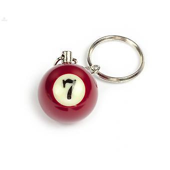 Nyckelring / Nyckelknippa Biljardboll (NR #7)
