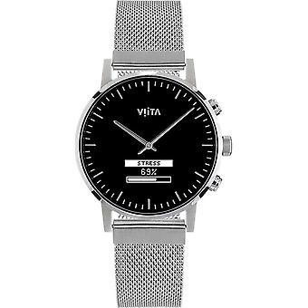 Viita Smartwatch - Hybrid HRV Classic silver - silver mesh - FC31S7011