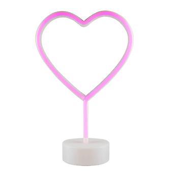 Lampa neonowa LED, Serce