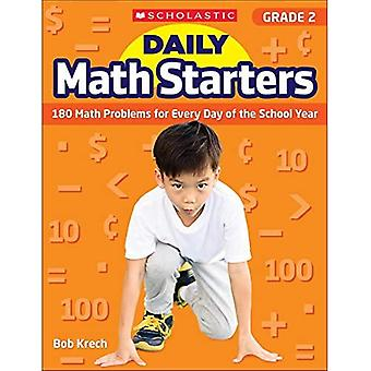 Daily Math Starters: Grade 2: 180 Math Problems for Every Day of the School Year (Daily Math Starters)