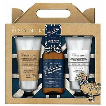 Baylis & Harding Fuzzy Duck Kit 3 pieces of Gingerbread and File for Men
