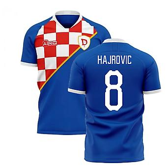2020-2021 Dinamo Zagreb Home Concept Football Shirt (Hajrovic 8)