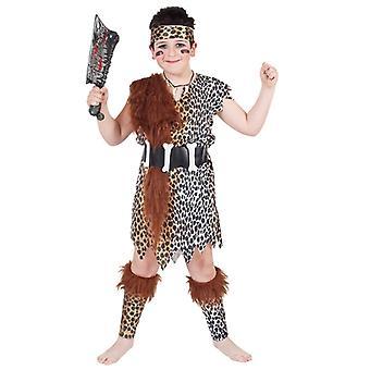 Børns kostumer Cave dreng kostume