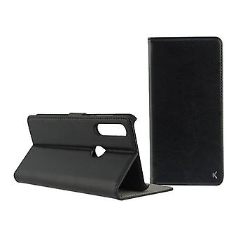 Folio mobiele telefoon geval Huawei P Smart Plus KSIX Zwart