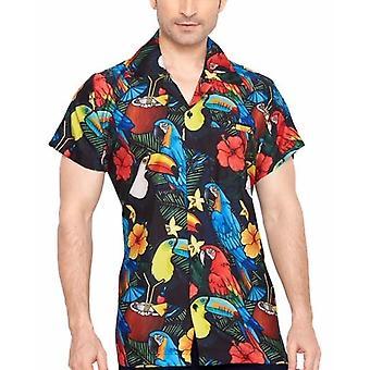 Club cubana men's regular fit classic short sleeve casual shirt ccd13