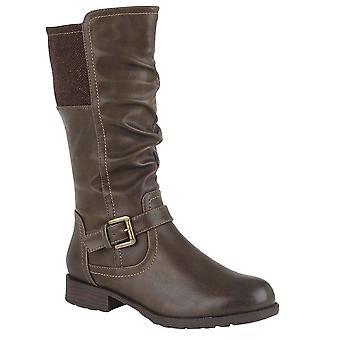 لوتس أدريانا المرأة الركبة أحذية عالية
