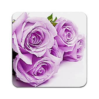 4 ST Flower Roses Coasters