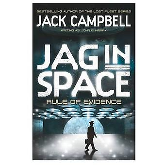 JAG in Space - Rule of Evidence (Buch 3) von Jack Campbell - 978085768