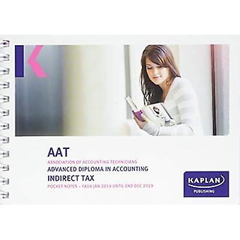 INDIRECT TAX (FA18) - POCKET NOTES by KAPLAN PUBLISHING - 97817874030