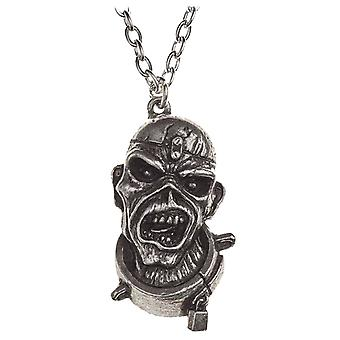 Iron Maiden Necklace Pendant Piece Of Mind Eddie new Official Alchemy Silver