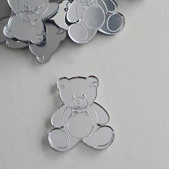 Mr Bear Mini Craft kokoinen akryyli peilit (10Pk)