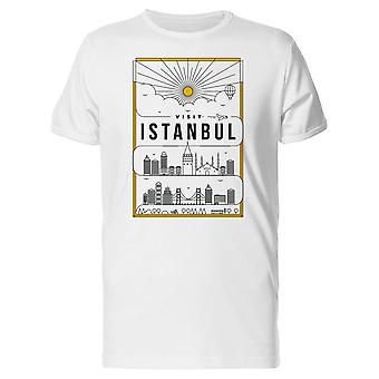 Visit Istanbul Tee Men's -Image by Shutterstock