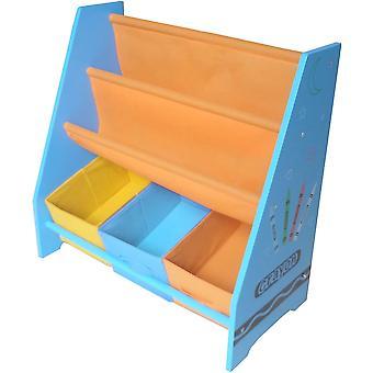 Kiddi Style Crayon Sling Bookshelf Kiddi Style Crayon Sling Bookshelf Kiddi Style Crayon Sling Bookshelf Kidd