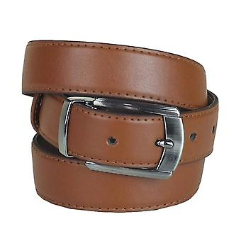 Boys Faux Leather Light Brown Belt