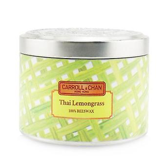 Carroll & Chan 100% Bijenwasblik kaars - Thaise citroengras (8x6) cm