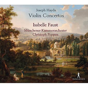 Haydn, J. / Faust, Isabelle / Poppen, Christoph - Haydn: Violin Concertos [CD] USA import