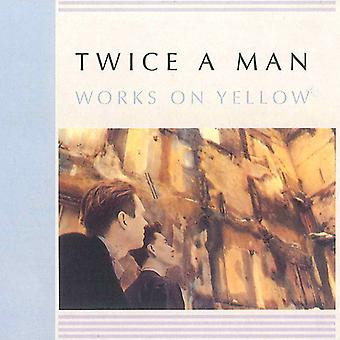 Twice a Man - Works on Yellow [CD] USA import