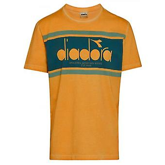 Diadora Orange Mustard Short Sleeve T-Shirt