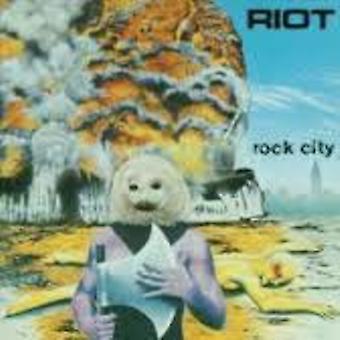 Riot - Rock City [Vinyl] USA import