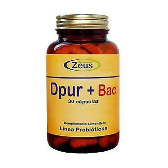 Dpur + Bac 30 capsules